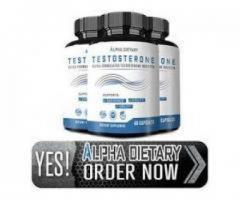 Alpha Dietary Testosterone